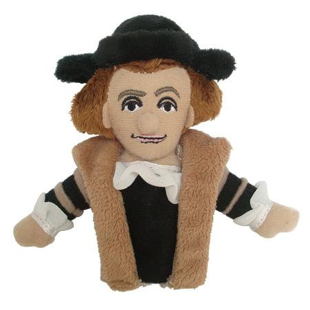 Christopher Columbus Finger Puppet and Refrigerator Magnet