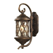 Barrington Gate 2-Light Outdoor Wall Lamp in Hazelnut Bronze