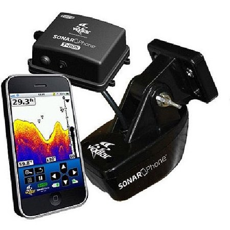 Vexilar t box smartphone fish finder sp200 for Phone fish finder