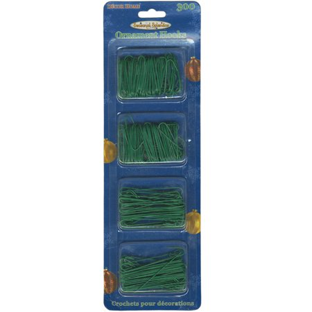 Ornament Hooks 300/Pkg-Green