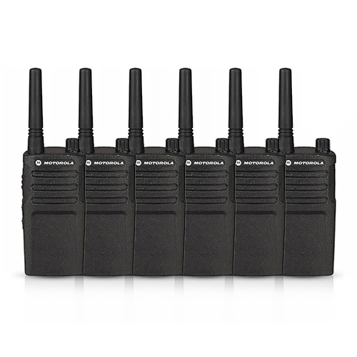 Motorola RMU2040 (6 Pack) Two Way Radio - Walkie Talkie