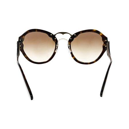 27b346fba2 Prada Women s Gradient PR09TS-2AU6S1-54 Brown Butterfly Sunglasses - image  1 ...