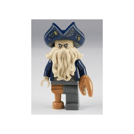 LEGO Pirates of the Caribbean Davy Jones (Lego Pirates Of The Caribbean Angelica Minifigure)