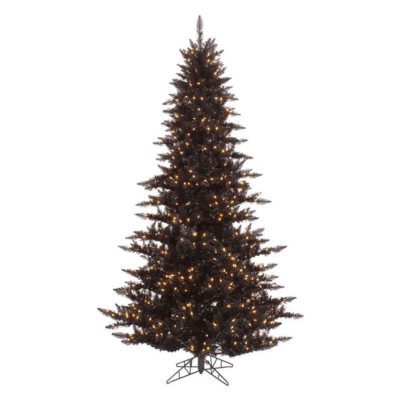 Vickerman Black Fir Pre-lit Christmas Tree