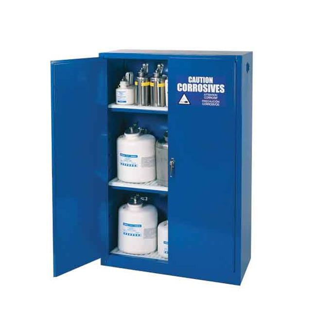 Diversified Woodcrafts ACC-45 43 in. x 18 in. x 65 in. Acid-Corrosive Metal Storage Cabinet - 45 Gallon