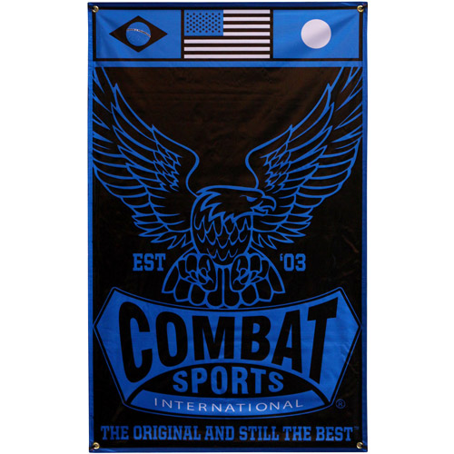 Combat Sports Banner, 3' x 5'