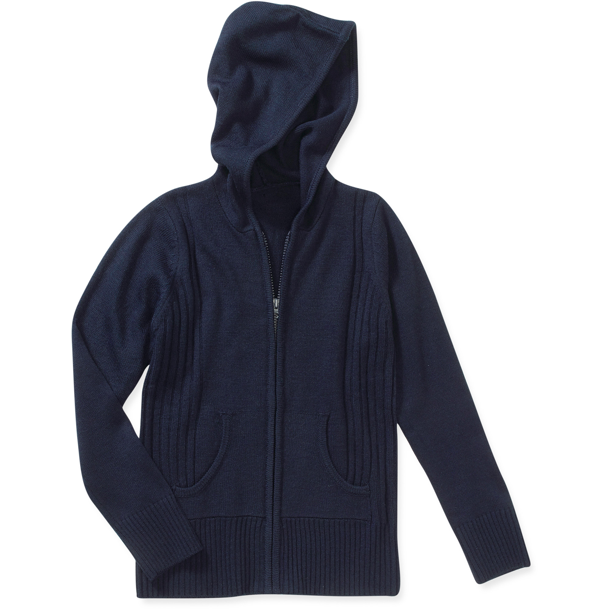 George Girls' Hooded Sweater - Walmart.com
