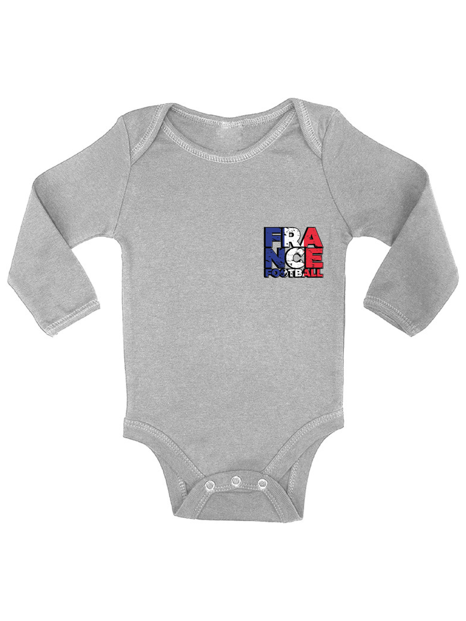 Baby Girls Bodysuits France Flag Guitar Art Baby Rompers