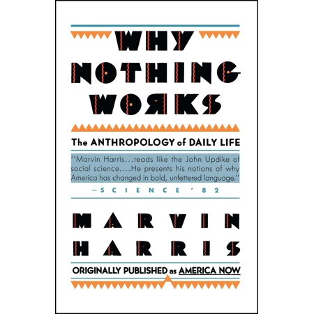 Why Nothing Works : The Anthropology of Daily