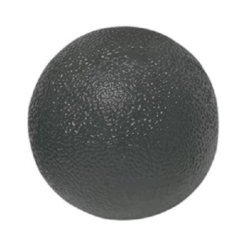CanDo Gel Ball Hand Exerciser, Standard Circular, Black X-Heavy-1 Each