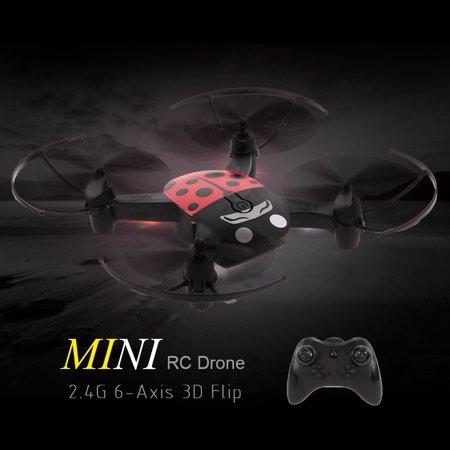 1 Mode Mini (B1100 2.4G 4CH Mini RC Drone Headless Mode One Key Return RC Quadcopter for Beginner)