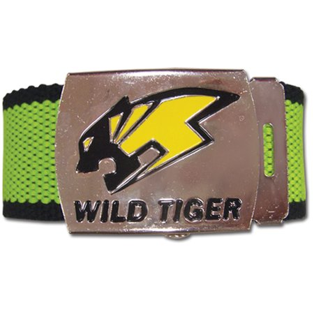 Belt - Tiger & Bunny - New Wild Tiger Logo Fabric Anime Gifts Licensed ge14000 ()