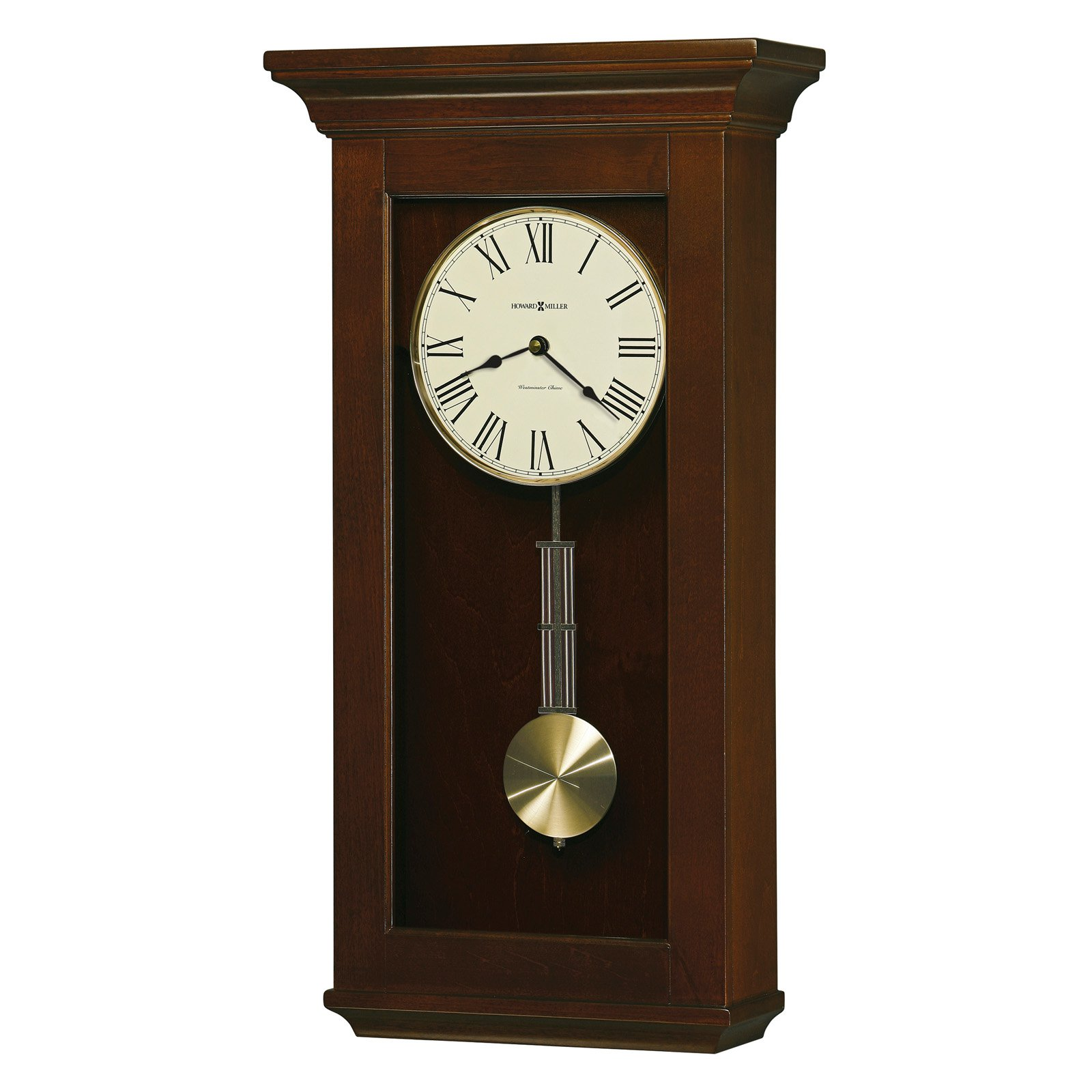 Howard Miller 625-468 Continental Wall Clock 13-in. Wide by Howard Miller