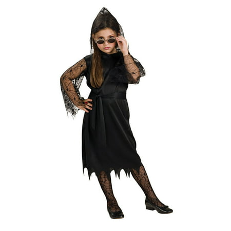 Child Gothic Lace Vampiress Costume Rubies 881906](Gothic Kids)