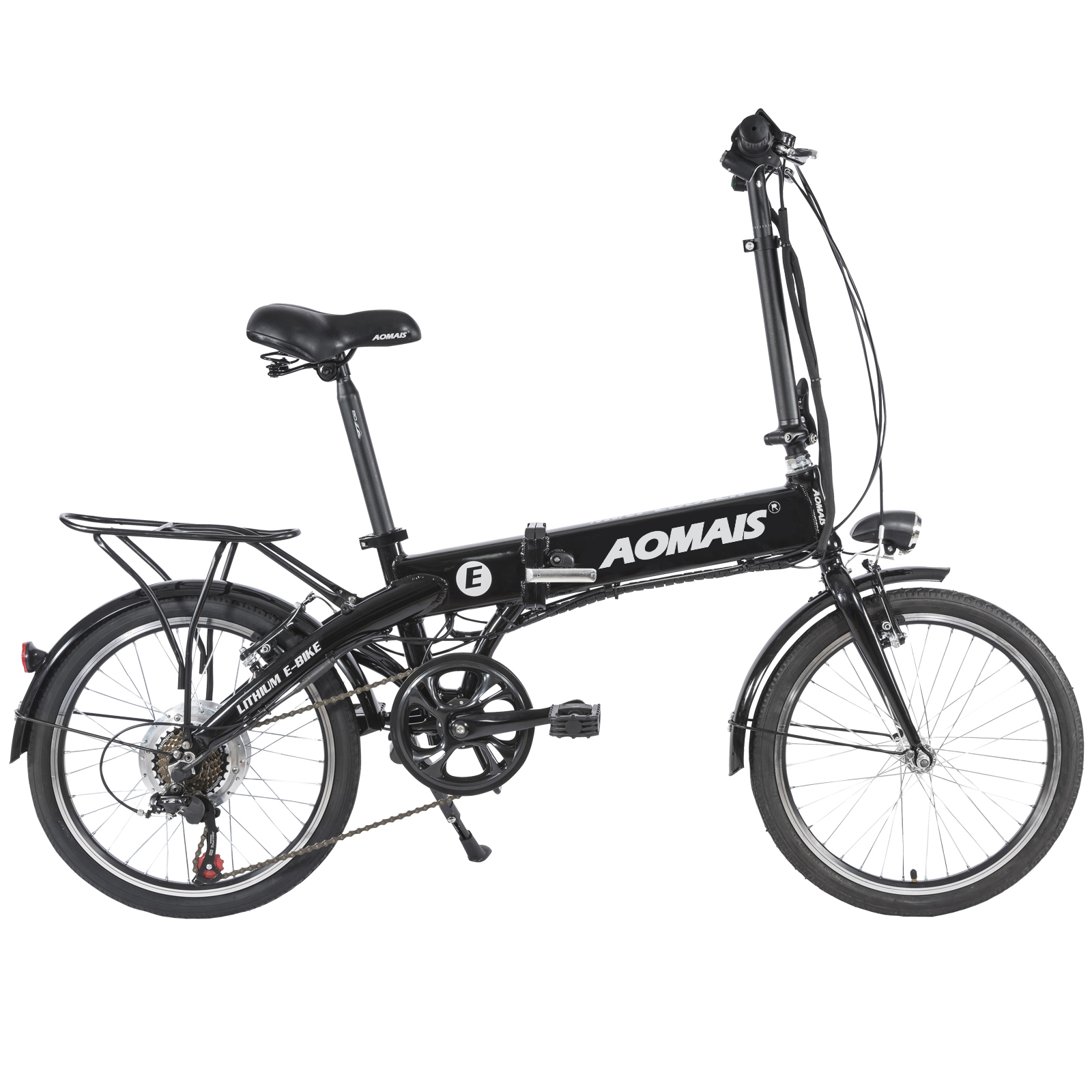 Murtisol 20electric Folding Bicycles For Adults 7 Speed Foldable