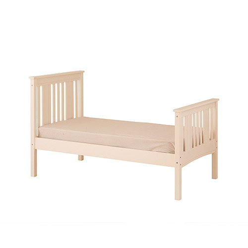 Canwood Base Camp Twin Bed, White