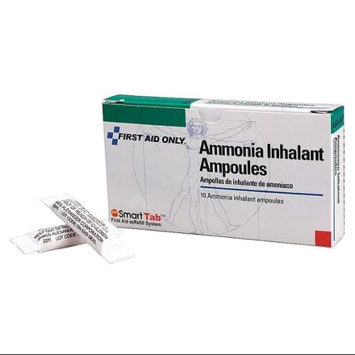 FIRST AID ONLY A5009-AMP Ammonia Inhalant, 0.3mL, PK10