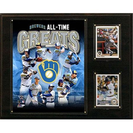 MLB Milwaukee Brewers 12x15-Inch All Time Greats Photo Plaque - image 1 of 1