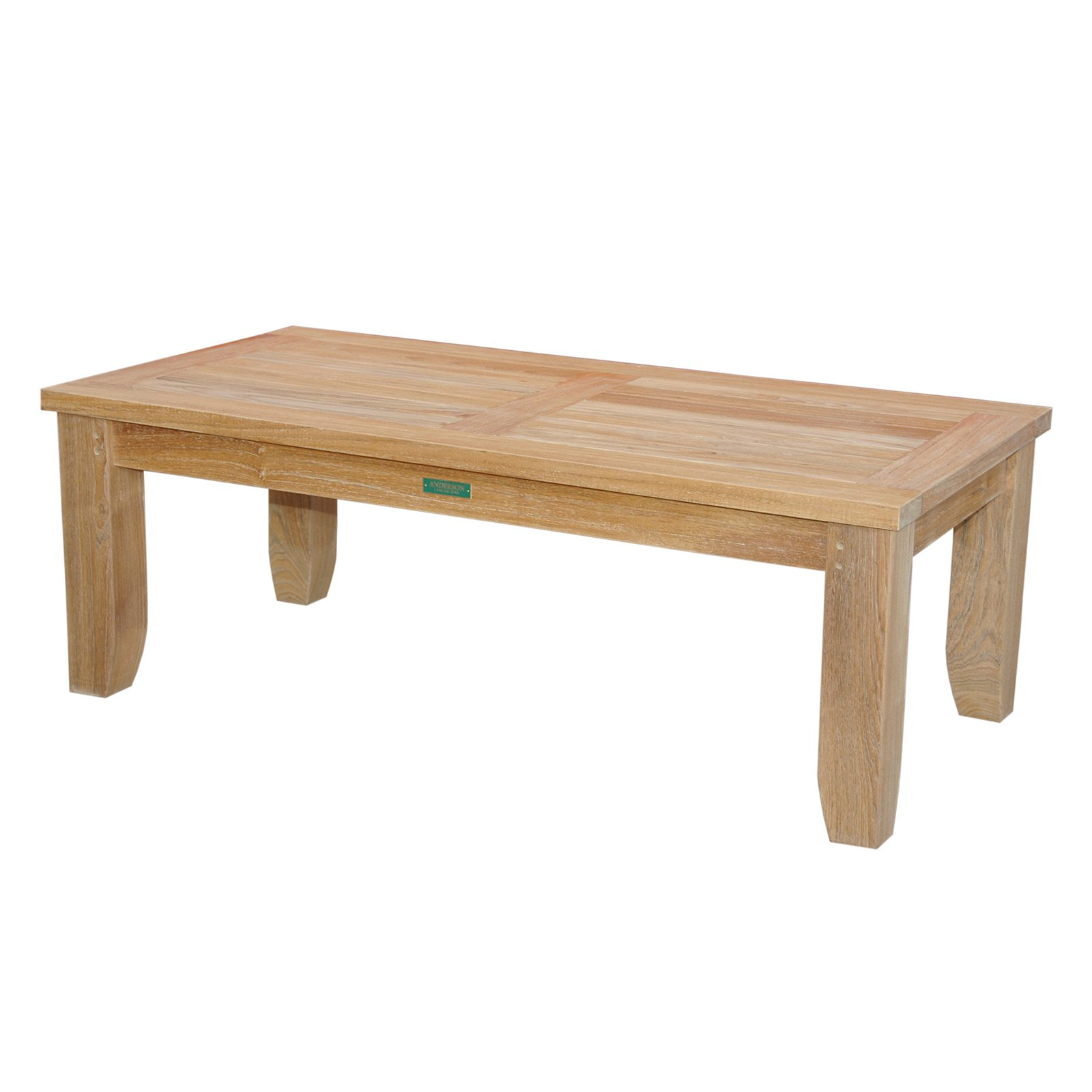Anderson Teak Luxe Outdoor Coffee Table by Anderson Teak