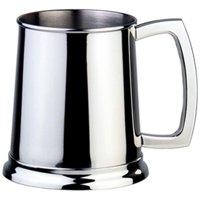 Visol Dortmund 16oz Polished Stainless Steel Beer Mug
