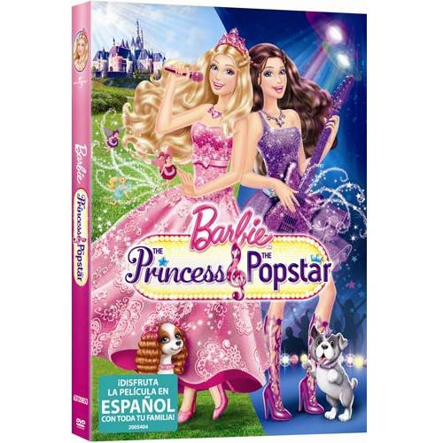 Barbie: The Princess & The Popstar (Spanish Language Packaging) (Anamorphic Widescreen)
