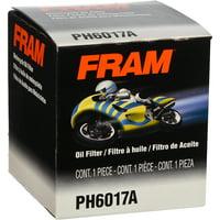 FRAM Motorcycle/ATV Oil Filter, PH6017A for Select Harley-Davidson, Honda, Indian, Yamaha, Polaris, Triumph and Victory Models