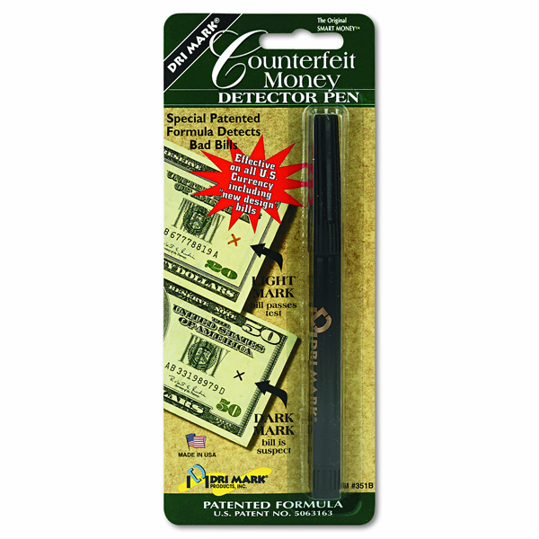 Dri-Mark Smart Money Counterfeit Bill Detector Pen - Pack of 12