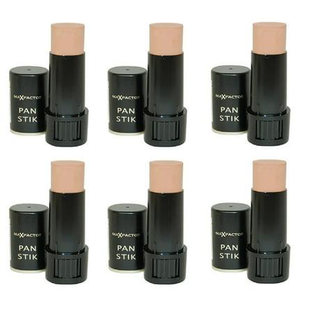 Max Factor Pan Stik Foundation Bisque Ivory (Pack of 6) + Cat Line Makeup Tutorial - Makeup Tutorials