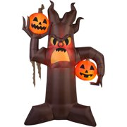 gemmy airblown inflatable 105 x 7 brown scary tree halloween decoration - Www Gemmy Com Halloween
