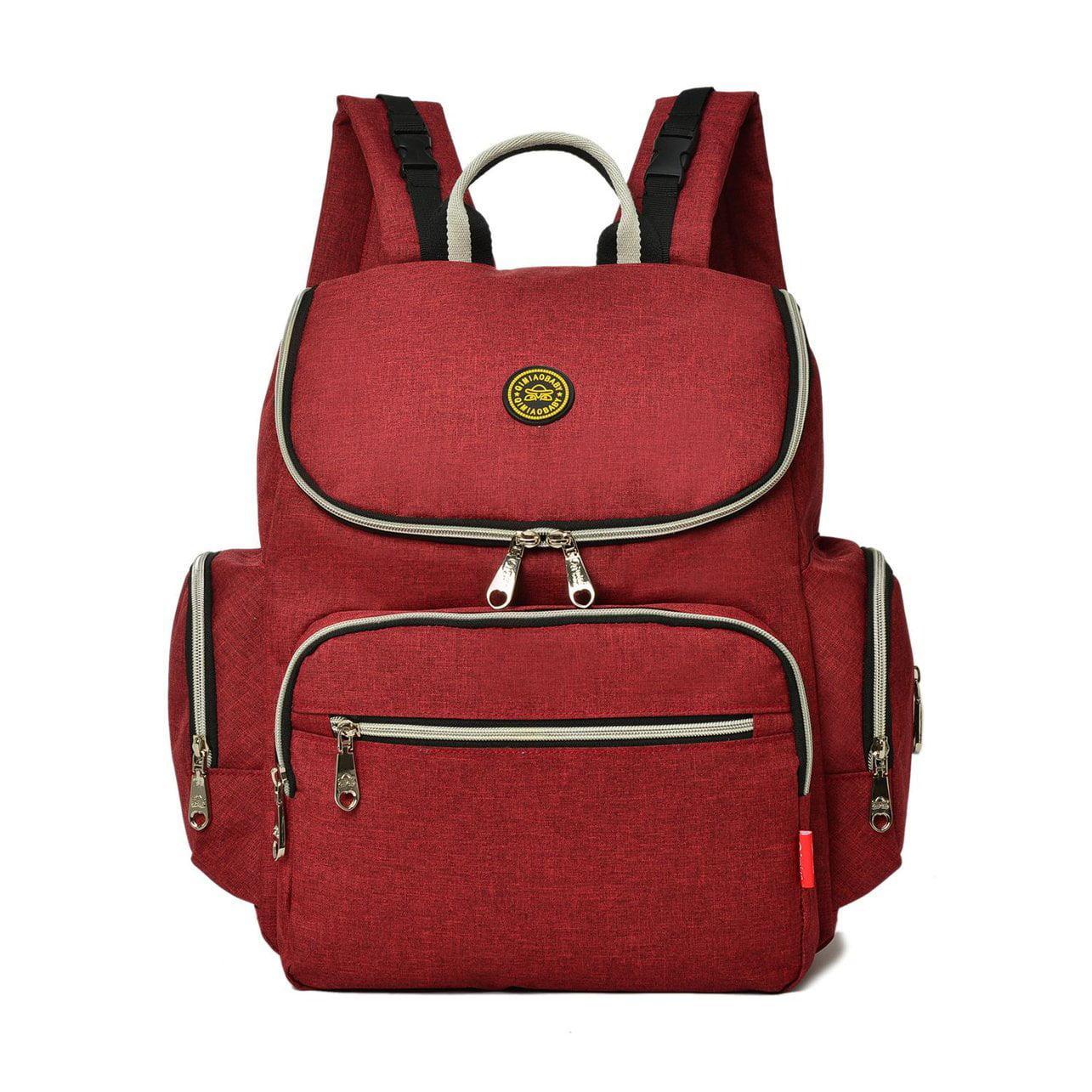 Baby Diaper Bag Mommy Bag Travel Backpack With Stroller Straps Shoulder Bag by OUTAD