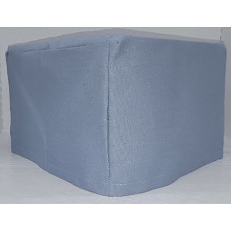 Canvas Toaster Cover (15 Colors Available) (4-Slice, Smokey Blue)