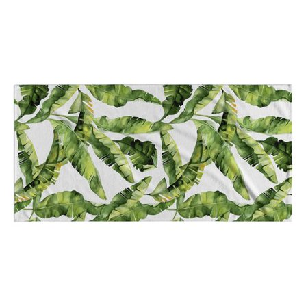 Bayou Breeze Banana Leaf Beach Towel