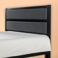 Zinus Viola Modern Studio Upholstered Metal Headboard, Full