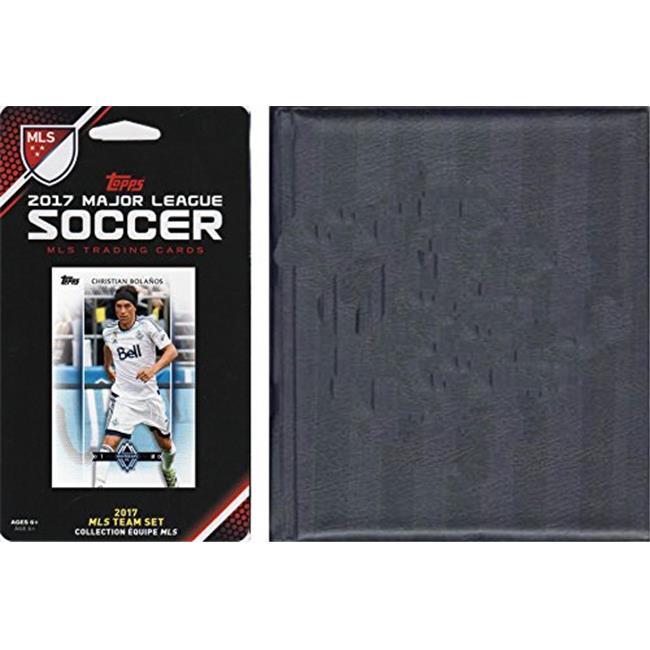 C & I Collectables WHITECAP17 MLS Vancouver Whitecaps Licensed 2017 Topps Team Set & Storage Album - image 1 de 1