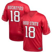 b0e3c401b1a Product Image Men's Scarlet Ohio State Buckeyes Kick Off Jersey