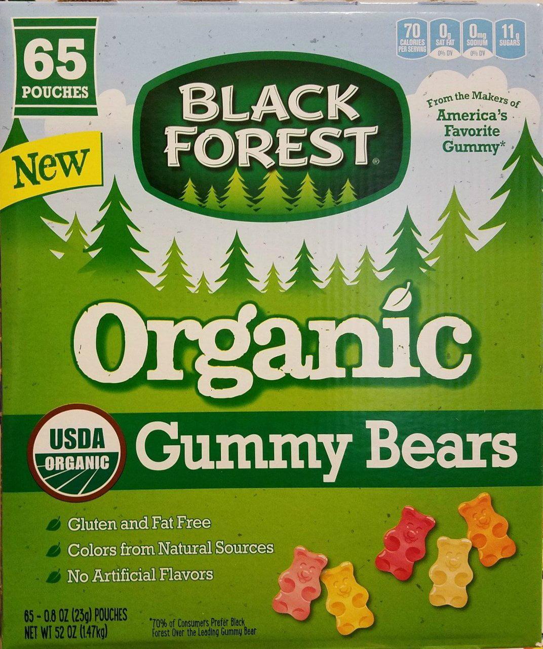 Black Forest Organic Gummy Bears, 0.8 oz, 65 Count by Ferrara Candy Company