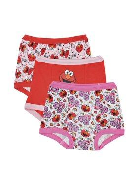 Elmo Potty Training Pants Underwear, 3-Pack (Toddler Girls)