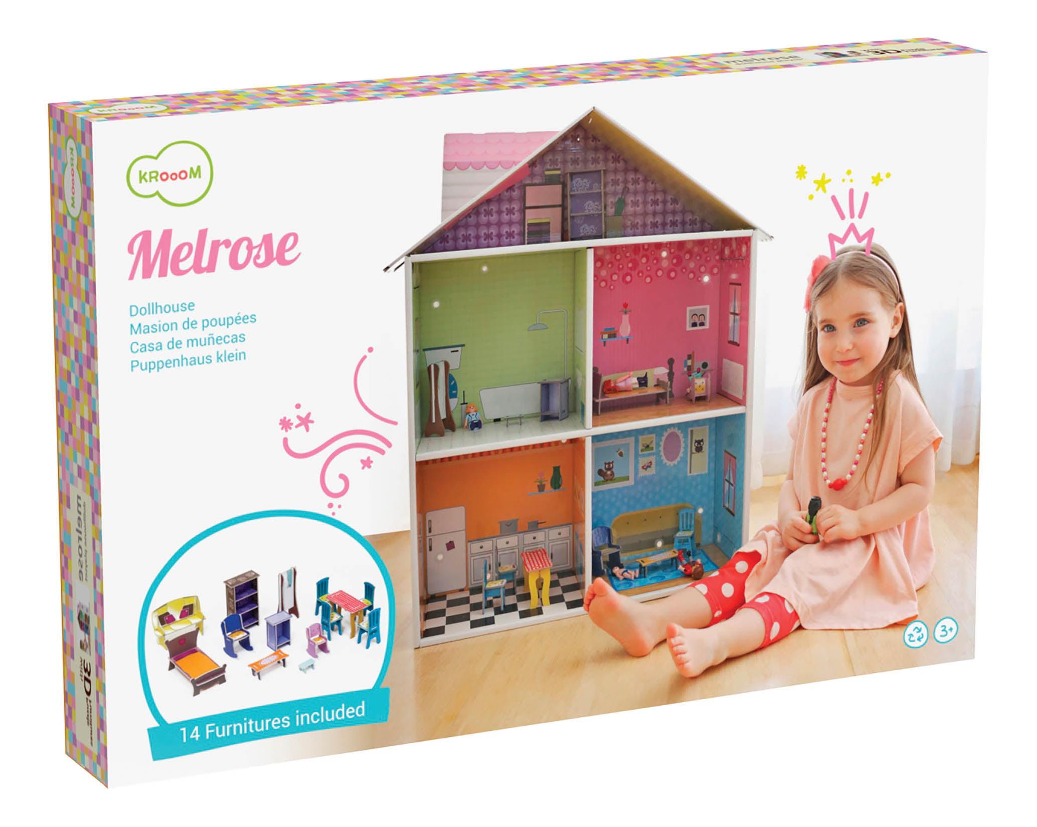 Krooom Melrose Dollhouse Playset Walmart Com Walmart Com