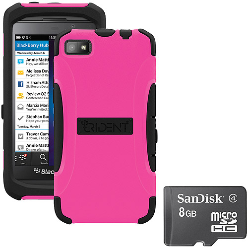 Trident Z10 Aegis Case Pink With Sandisk Micro Sd 8gb