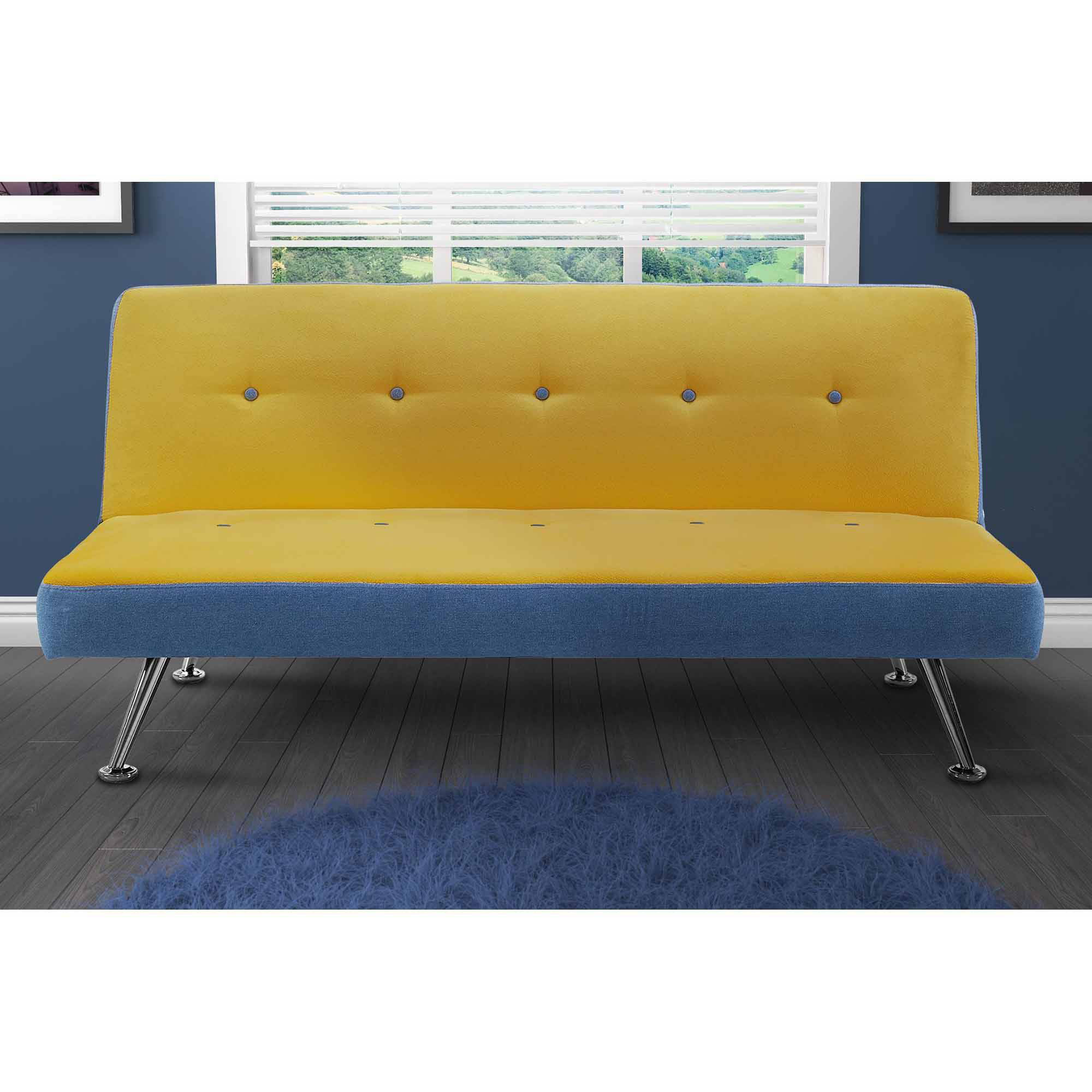 denim futon denim sofa sleeper hmmi