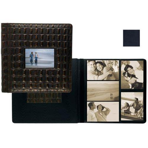 Raika RM 113-D NAVY Frame Front Scrap Book Album - Navy