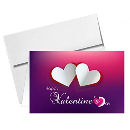 4.5 x 6 Valentine's Day Greeting Cards & A6 Envelopes - Pack of 25](Minion Valentine Cards)