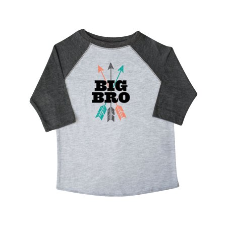 Big Bro Arrow Native Boys Brother Announcement Toddler T-Shirt - Native Bow And Arrow
