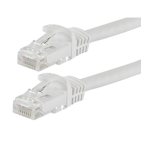 Monoprice Flexboot Cat5e Ethernet Patch Cable - Network Internet Cord - RJ45, Stranded, 350Mhz, UTP, Pure Bare Copper Wire, 24AWG, 25ft, - Wire 25ft Roll