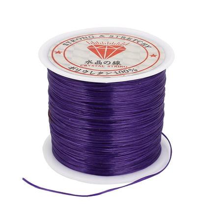 Elastic Making Beading Jewelery Bracelet Necklace Thread Cord String Purple