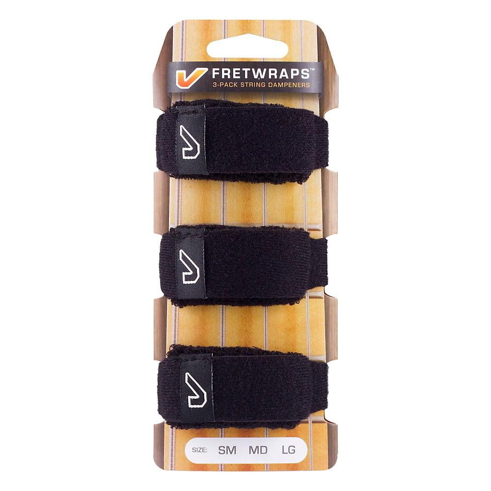 Gruv Gear FretWraps String Muters (3-Pack) Large Black