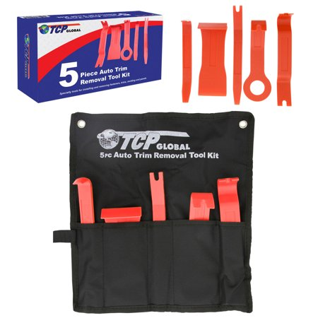 Vehicle Specialty Tools (5 Piece Auto Trim Removal Tool Kit - Specialty Tools For Installing and Removing Fasteners, Trims, Molding &)
