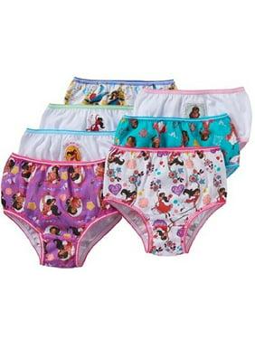 Disney Princess, Elena Of Avalor Girls' Underwear, 7 Pack Panties (Little Girls)