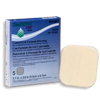 Duoderm Cgf Sterile  Dressing, 4 Inchesx4 Inches - 5 Ea