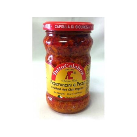 Tutto Calabria Crushed Hot Chili Peppers - 10.2oz (Crushed Peppers)